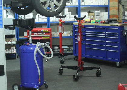 MCM Garage servicing station