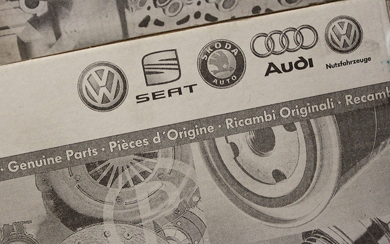VW Audi Group logos