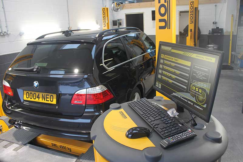 Latest MOT equipment