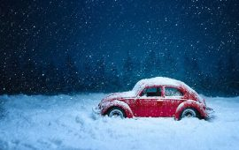 Driving with snow on your car could net you a £60 fine
